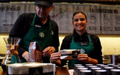 Starbucks lanza café de origen colombiano hecho 100% por caficultores de Santander